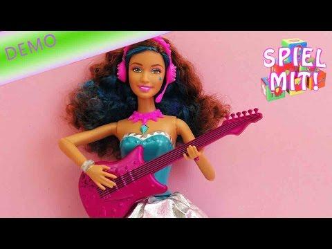 Barbie eine Prinzessin im Rockstar Camp Demo - Erika 2 in 1