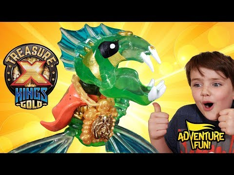 "Treasure X Kings Gold ""Beasts"" Season 3 Adventure Fun Toy Review!"