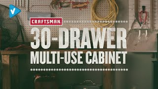 Home Improvement Guide: Small 30 Drawer Bin System  Tool Overview   #Craftsman