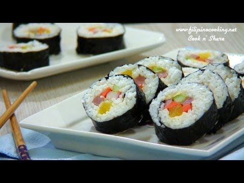 Kimbap (Korean Rice Rolls)