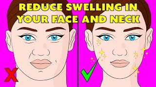 The 3 minute lymphatic massage techniques to reduce swelling in your face - the natural method
