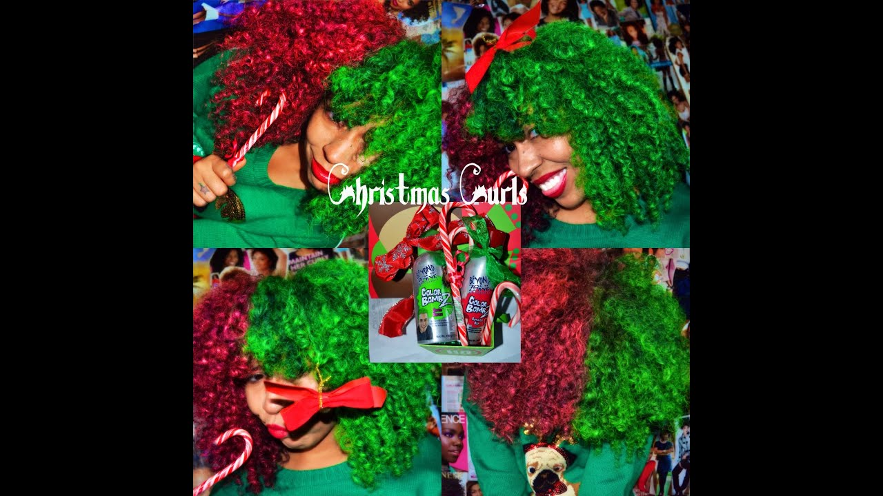 Temp Hair Colorbeyond The Zone Color Bombz Christmas Inspired