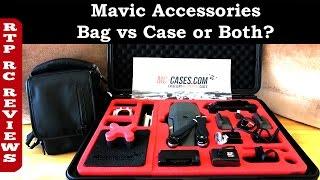DJI Mavic Pro 4K Camera Drone - DJI Mavic Pro Accessories, Gadget Bag vs MC-Cases Case or Both