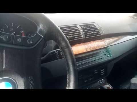 Как открыть багажник  BMW Х5 при севшем аккумуляторе
