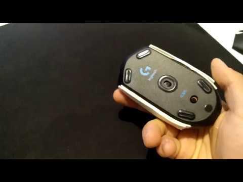 Logitech G305 - Weight reduction & Flat side MOD