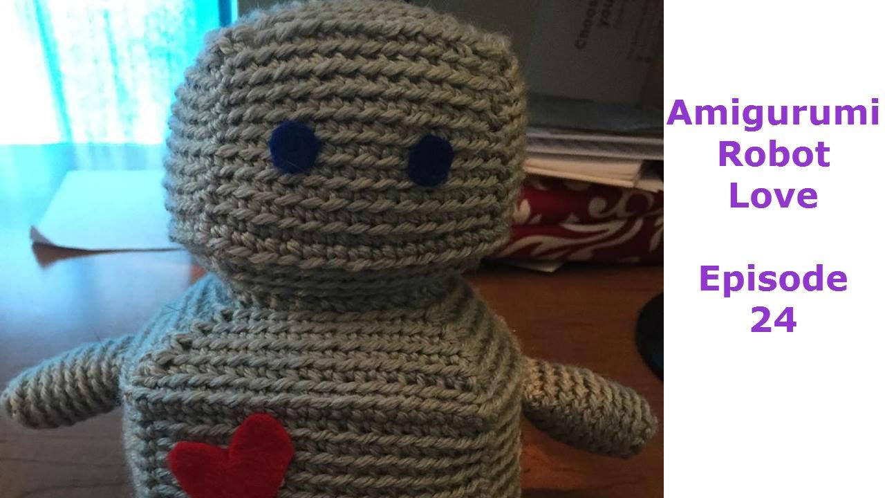Amigurumi Mini Robot Crochet Pattern | 720x1280