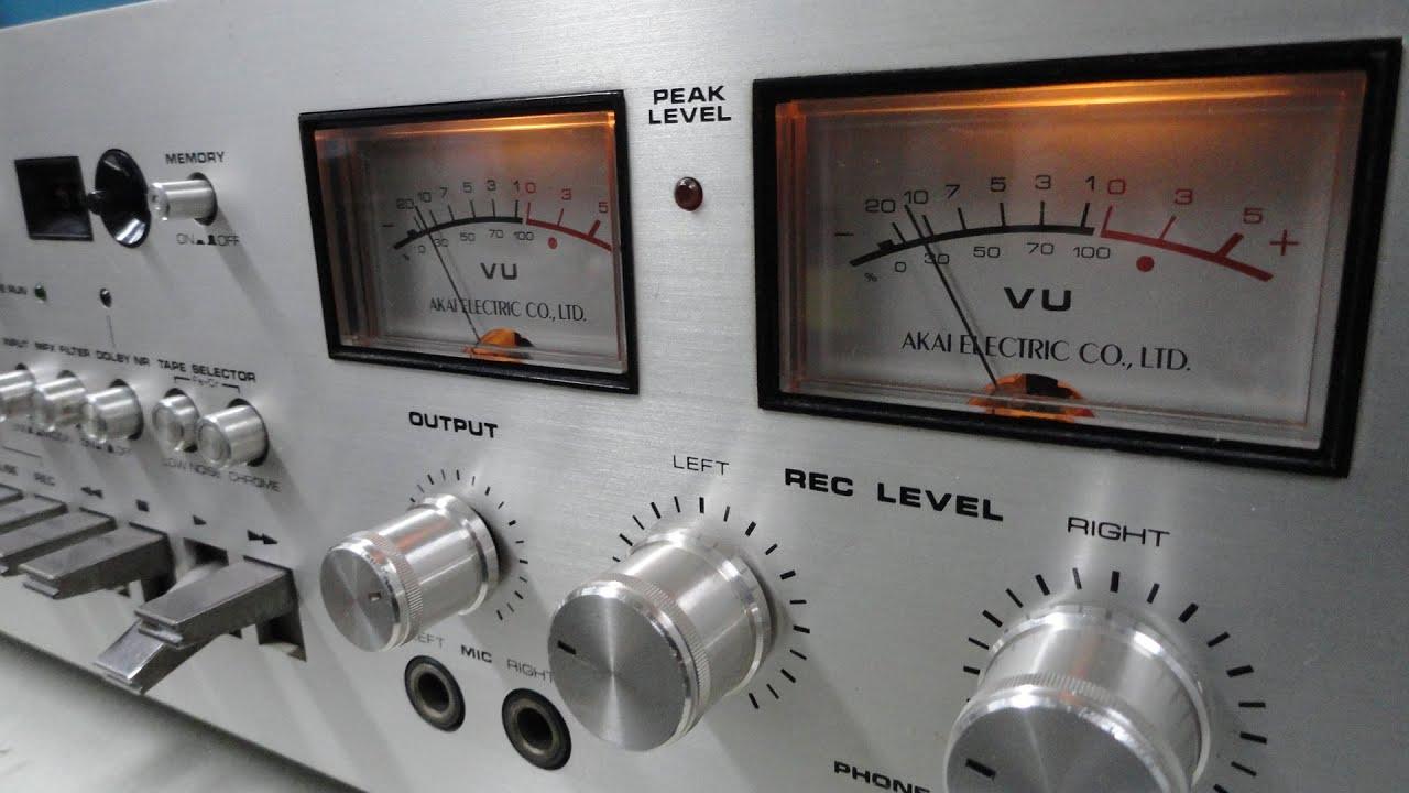 O Rei do Som - Tape Deck Akai GXC-710D