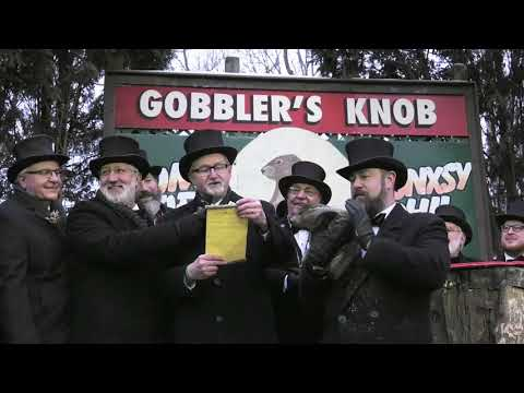 Groundhog Day 2019 with Punxsutawney Phil in Pennsylvania
