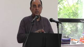 Dr Subramanian Swamy Talk in Bharat Sevashram Sangha, NJ, USA