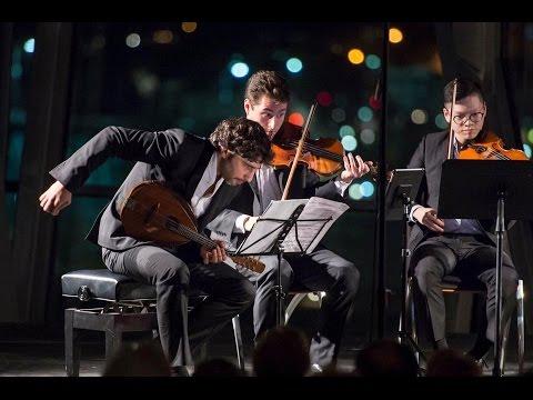 Dover Quartet & Avi Avital play David Bruce's Cymbeline