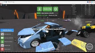 GETTING REKT!!! - Roblox Car Crushers