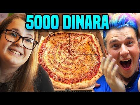 50 DIN PIZZA protiv 5000 DIN PIZZA