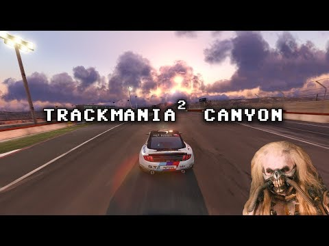 Ross's Game Dungeon: TrackMania² Canyon