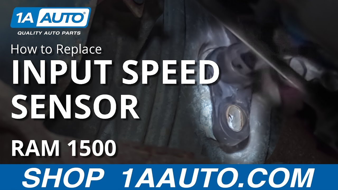 How to Replace Input Speed    Sensor    0408    Dodge       Ram     YouTube