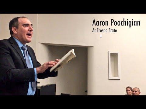 Aaron Poochigian at Fresno State
