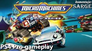 Micro Machines: World Series (PS4 Pro gameplay) - Powrót kultowej serii wyścigowej