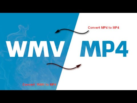 How to convert WMV file Into MP4  2020 