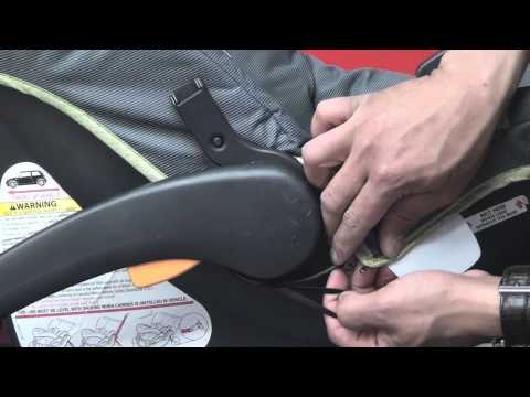 Chicco Keyfit - Cleaning Car Seat (Part 2 After cleaning, step by step reassembly)