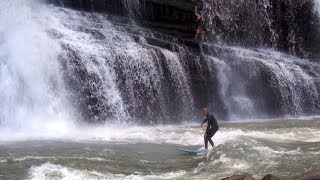 RIVER SURFING A DANGER ZONE IN TENNESSEE