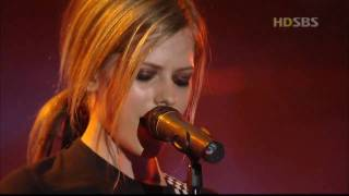 AVRIL LAVIGNE - My Happy Ending (Live in Korea 2004 ) [HD]