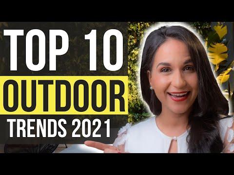 TOP 10 OUTDOOR LIVING TRENDS 2021   Backyard, Deck & Patio Decorating Ideas