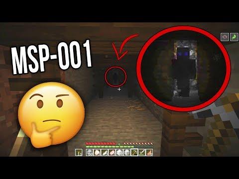 МИСТИЧЕСКОЕ существо MSP-001 обитает в этом мире в Minecraft! (MSP-001 Сид Майнкрафт)