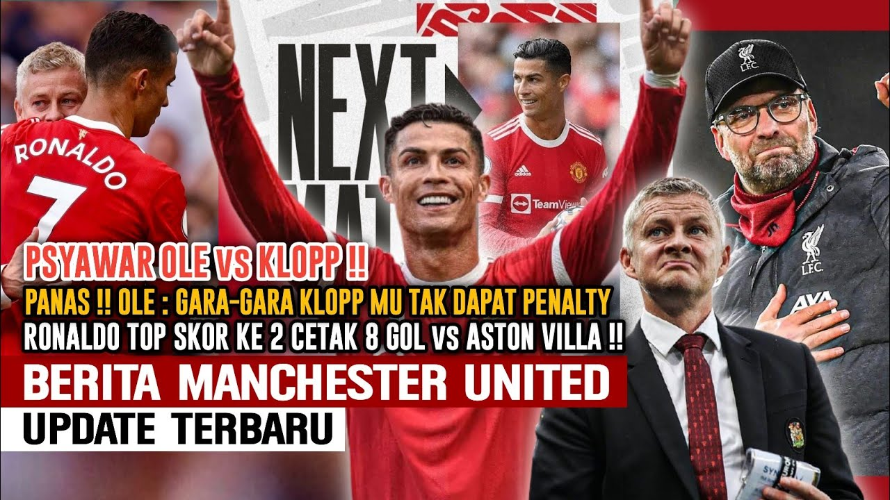 Download CR7 TOP SKOR KE 2🔥RONALDO Sudah Cetak 8 Gol😍PSAYWAR🔥OLE vs KlOPP😡Kloop Biang Kerok🤔Berita MU