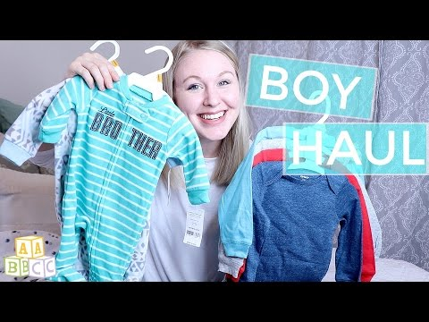 BABY BOY CLOTHING HAUL!
