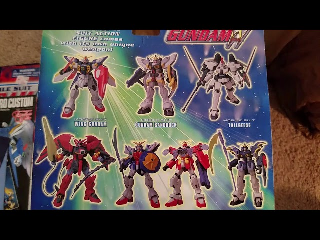 Gundam Mobile Suit Action Figure Collection Sneak Peek