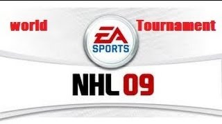 NHL 09 - World Tournament Gameplay - Canada vs. Sweden - PS3/XBOX360/PC NHL 09 Gameplay