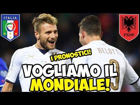 BELOTTI E IMMOBILE PORTATECI AL MONDIALE! ITALIA-ALBANIA