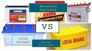Local battery vs branded battery 🔋   hindi