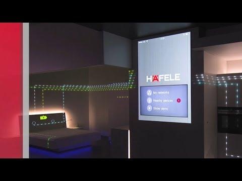 The Häfele Connect Concept - Smart Furniture Meets Smart Home.
