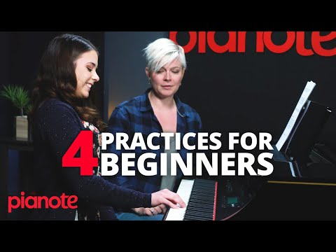 4 Things A Beginner Piano Player Should Practice