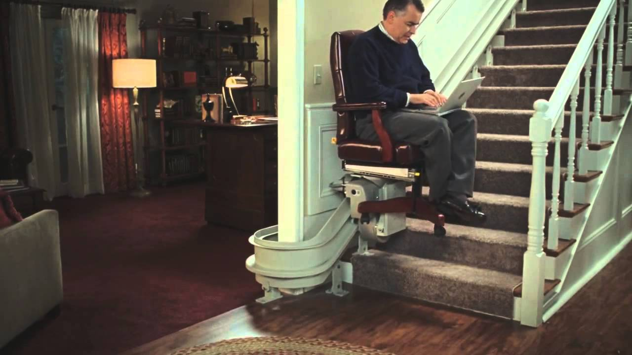 kayak stairlift commercial youtube - Lift Up Stairs