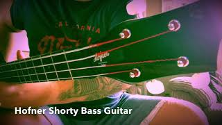 Hofner Shorty Bass • Review and play • Höfner • Travel Bass
