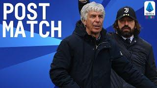 Atalanta 1-0 Juventus   Gasperini & Pirlo Post Match Press Conference   Serie A TIM