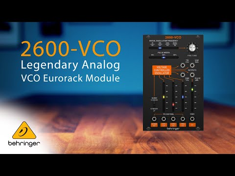 Introducing the Behringer 2600-VCO