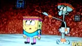 spongebob sings crank that!!!!!!