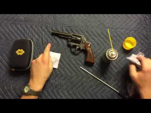 How To Clean A Taurus 38 Special Revolver - Cleaning A Handgun Revolver