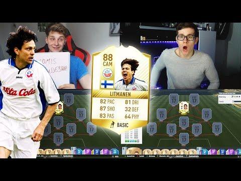 FIFA 17: KRASSER DISCARD😱 LEGEND LITMANEN SQUAD BUILDER SHOWDOWN vs FIFAGAMING 🔥😈