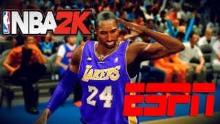NBA 2K13: ESPN TV Scoreboard LAL vs OKC *Download*
