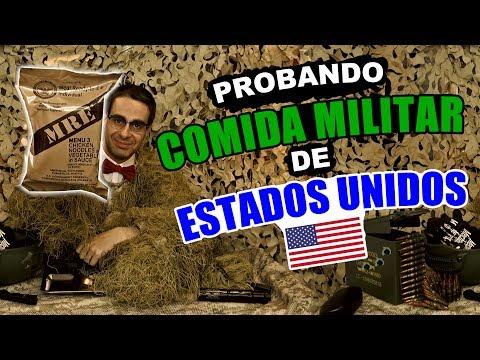 Probando Comida Militar de Estados Unidos - Qué hay dentro? (US ARMY MRE)
