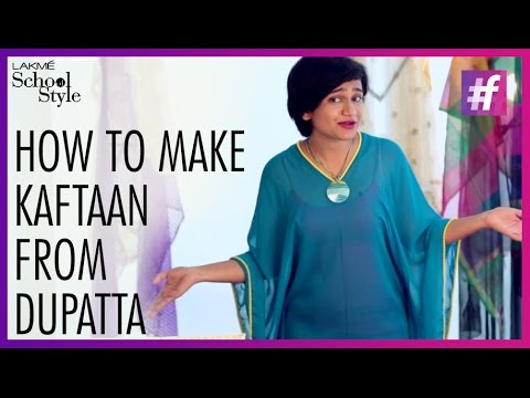 How To Make DIY Kaftan | #fame School Of Style - YouTube