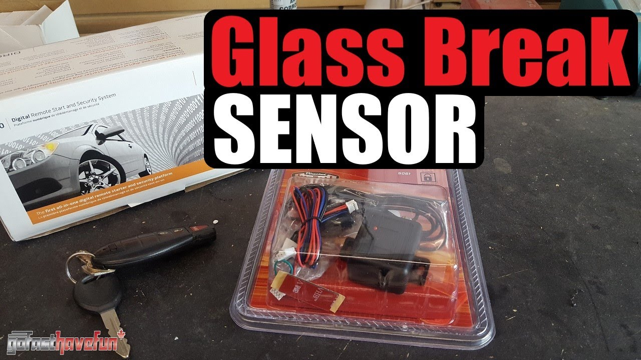 Glass Break Sensor Directed Electronics 506t Audio Clifford Car Alarm Wiring Diagram Anthonyj350 Youtube