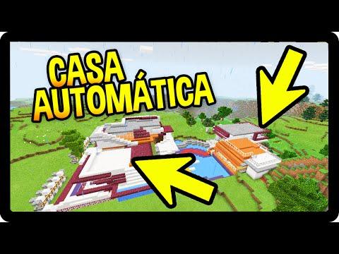 Minecraft Pocket Edition A Casa Autom Tica Dupla