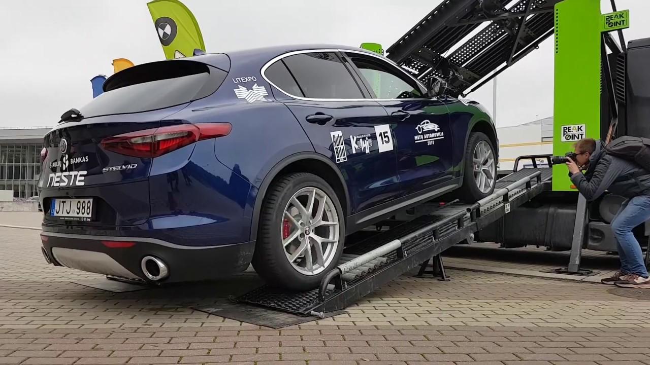 2017 Alfa Romeo Stelvio Off Road Capabilities Test Youtube