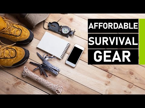 Top 10 Affordable Outdoor Survival Gears