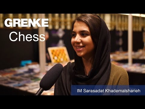 IM Sarasadat Khademalsharieh | Best female player at the GRENKE Chess Open 2017