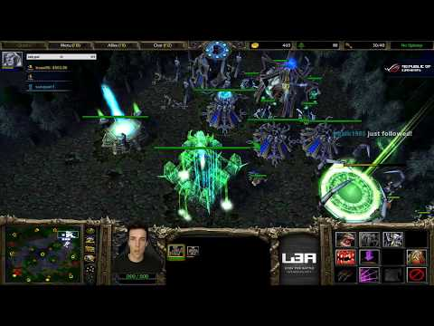 Grubby War3 Sunday Freestyle & 2v2 stream from 15.10.2017